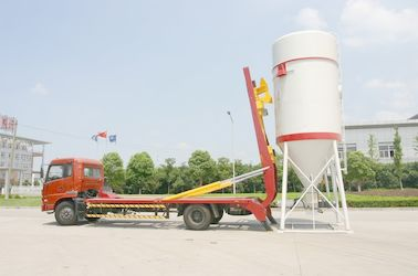 चीन Dong Feng 6x4 Dry Bulk Truck Hydraulic For Dry-Mixed Mortar 22 Cbm वितरक