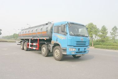 चीन 24.5 cbm Chemical Liquid Tanker Truck 6x4 For logistic Industries वितरक